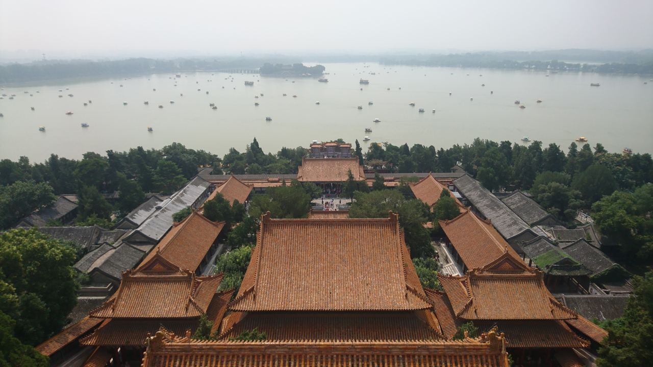 In Beijing – Summer Palace