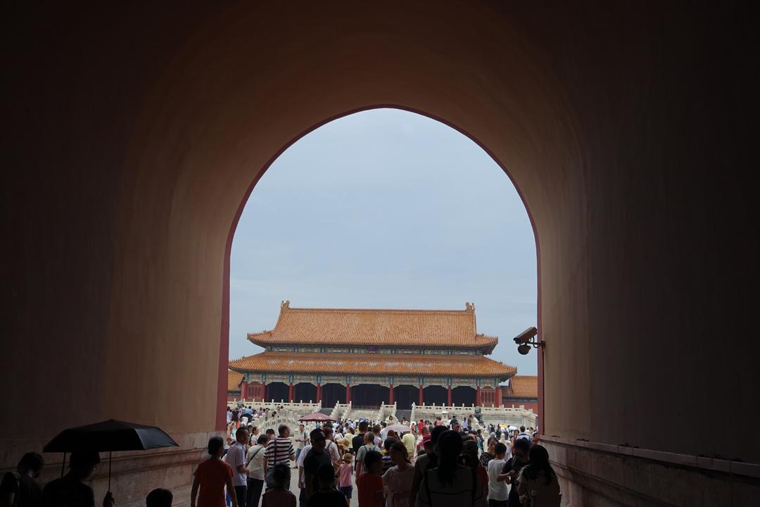 In Beijing – Forbidden City