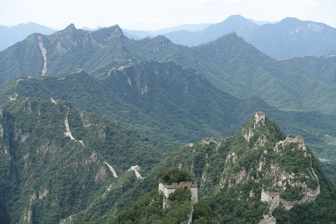 Hiking on the Great Wall – West to East Jiankou to Mutianyu