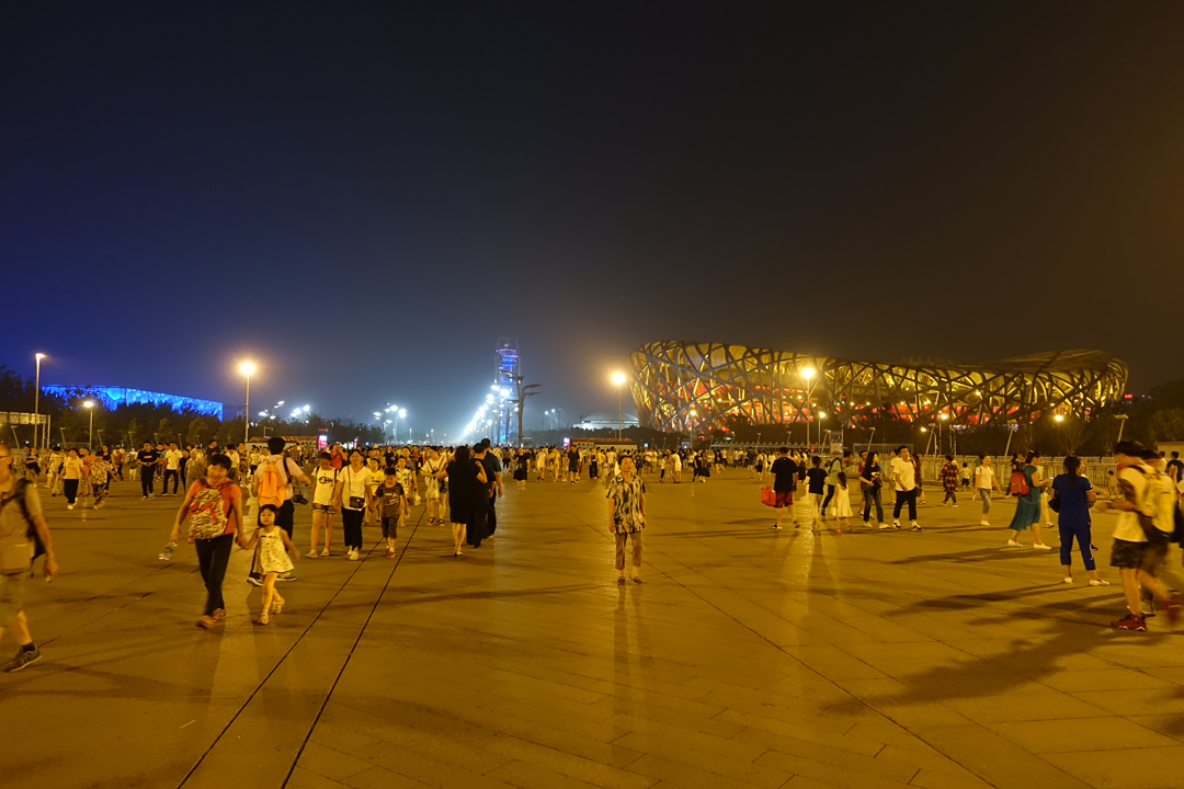 In Beijing – Olympic Park