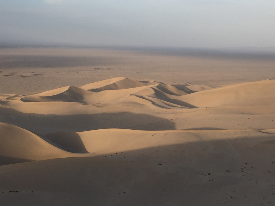 Dunhuang – Mingsha Shan (Sand dunes) and Crescent Lake