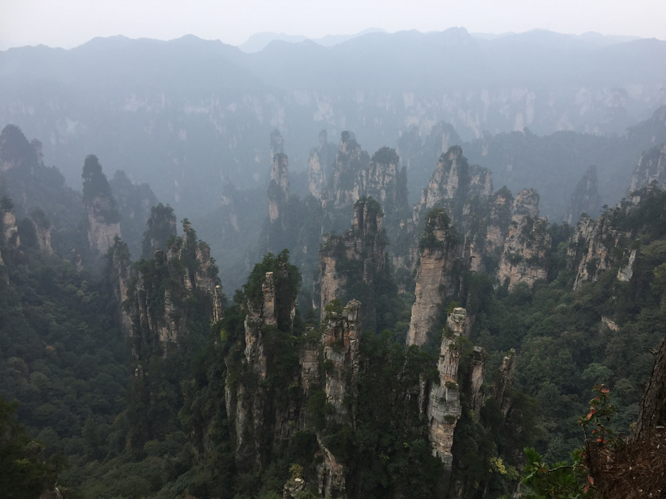 Zhangjiajie National Forest Park (Wulingyuan)