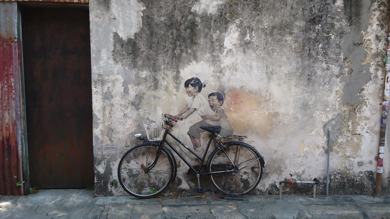 Malaysia Bike Trip – George Town
