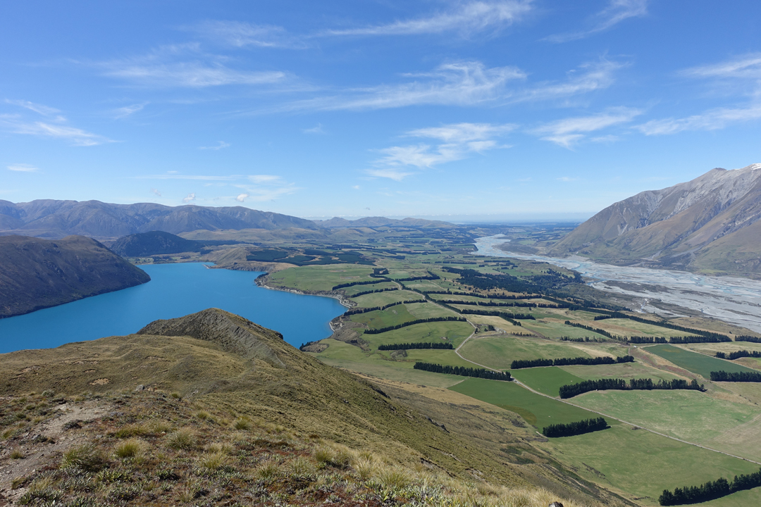 Lake Coleridge and Peak Hill Hike