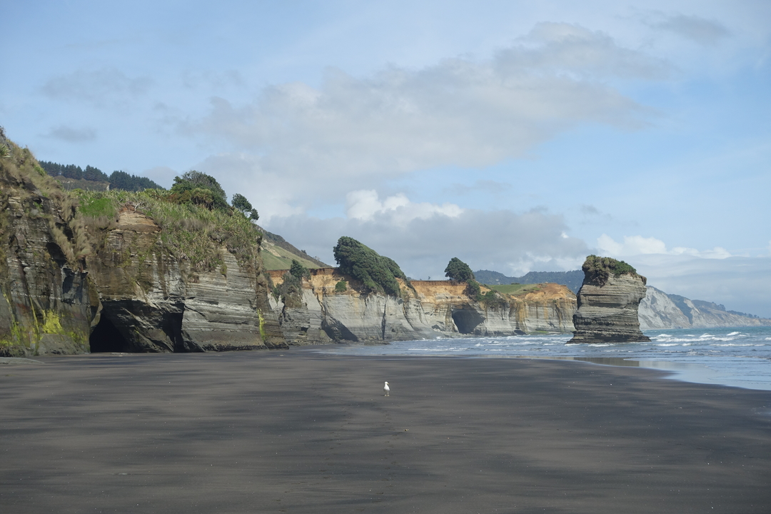 Mt Taranaki, 3 Sisters beach and to Waitomo Caves