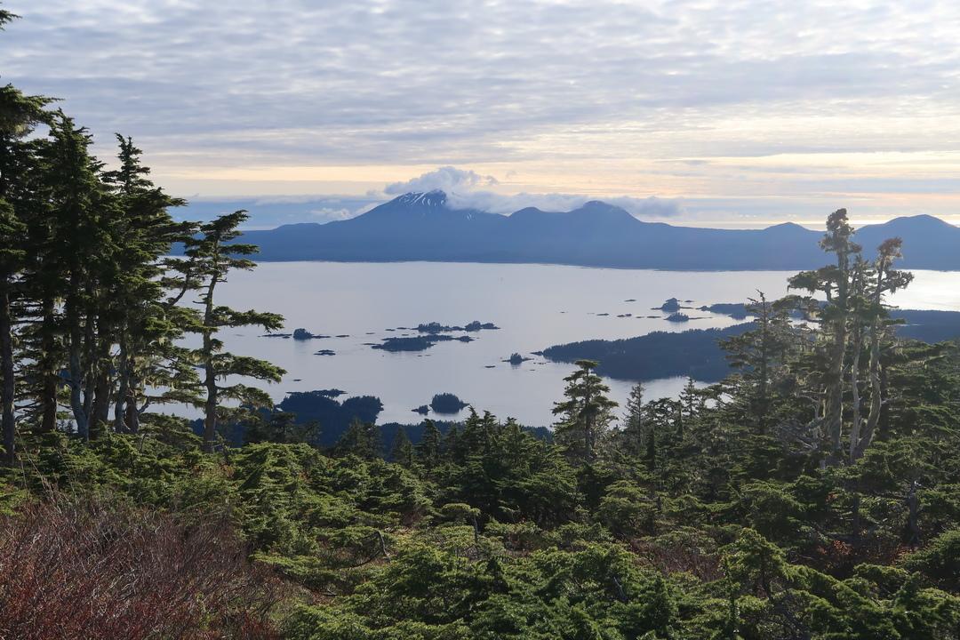 Sitka – Gavan Hill and cross to Harbor Mountain
