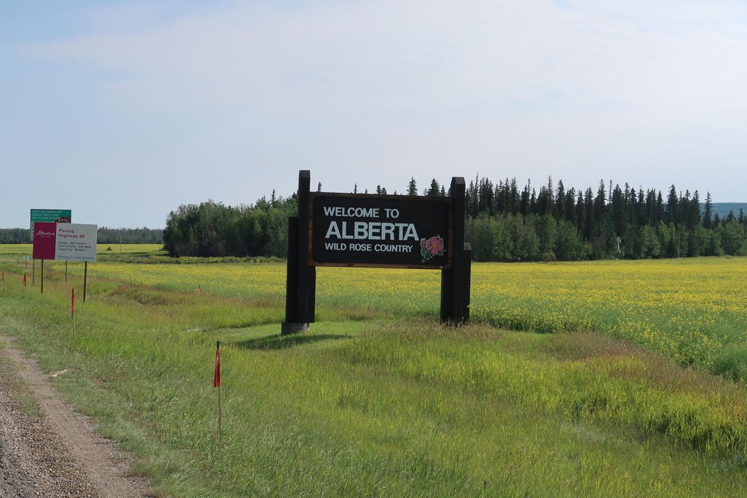 Fort St. John to Edmonton