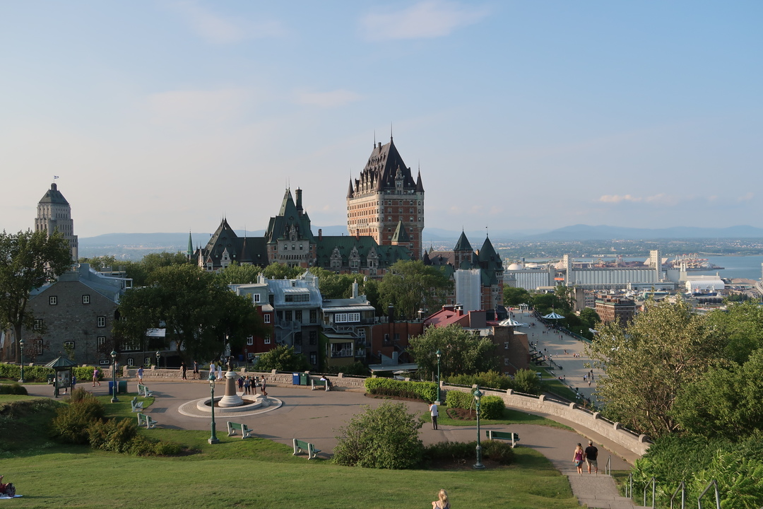 Mont Tremblant to Quebec stoping in Montreal